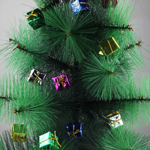 24X Colorful XMAS Small Gift Boxes Christmas Tree Hanging Decoration Ornament ZN