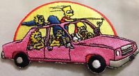 The Simpsons Car Patch 2x4