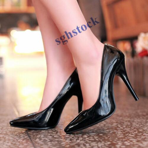 2019 Femmes Bout Pointu Talons Hauts Stilettos formelle Taille Plus Escarpins OL Chaussures T66
