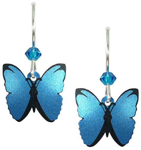 Sienna-Sky-BLUE-MORPHO-Butterfly-EARRINGS-1376-Sterling-Silver-Gift-Wrap-Box
