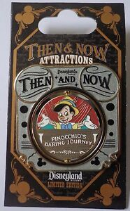Disney-DLR-Then-and-Now-Mickey-Mouse-Theater-to-Pinocchio-039-s-Daring-Journey-Pin