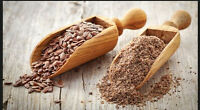Organic Brown Flax Seeds Ground – Excellent Source Of Fiber / Lino / Linaza