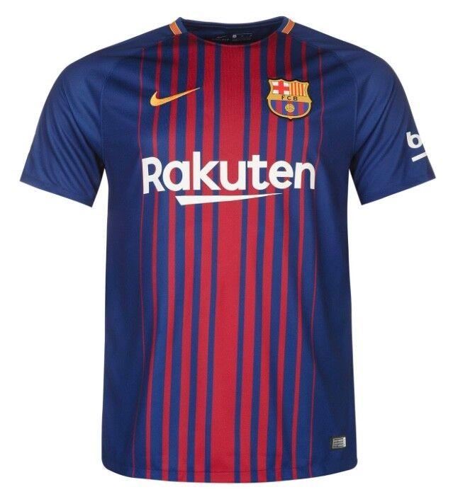ae5a6caa861 NIKE Fc Barcelona HEIM HOME MAGLIA 2017 2018 2018 2018 tutte le taglie  bluee red NUOVO 4e6c3a
