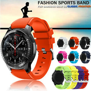 NEW-Sports-Silicone-Bracelet-Strap-Band-For-Samsung-Gear-S3-Classic-Frontier