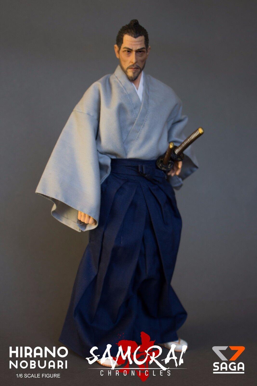 Hirano Nobuari 1 6 Scale Figure Samurai Chronicles by 7 Saga Figures