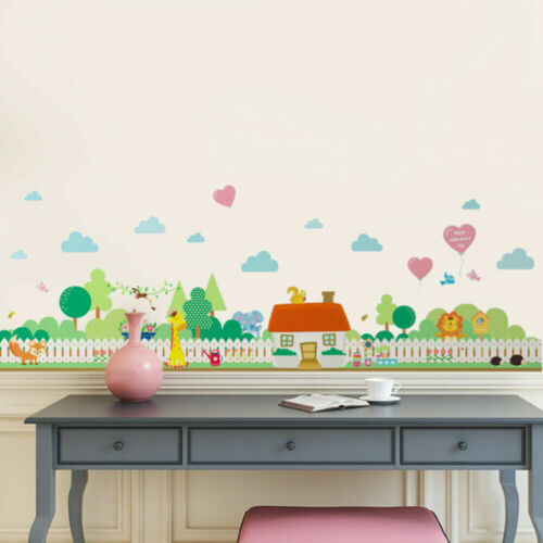 1PC Removable Creative Peel and Stick Wallpaper Wall Decals Nursery Decal