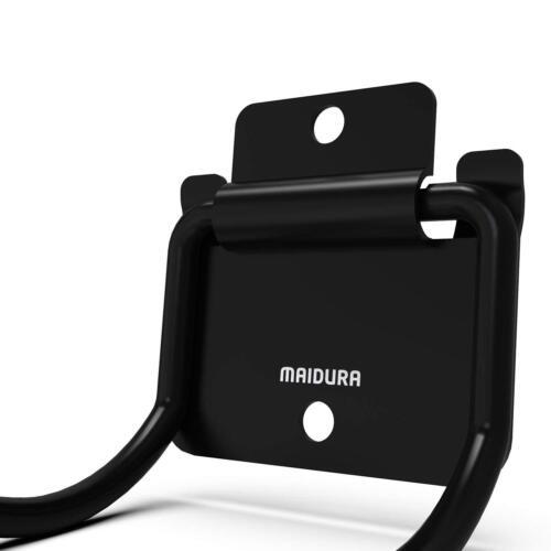 Maidura Gerätehalter Metall klappbarGartengeräte Wandhalterung für Besen