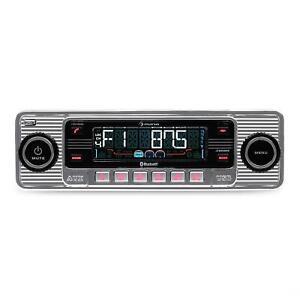 Ricondizionato-Autoradio-USB-Bluetooth-Lettore-CD-Retro-Radio-AM-FM-Estraibile