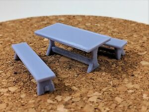 Miraculous Details About 28Mm Scale Hewn Table Benches Wargaming Old West Medieval Scatter Terrain Machost Co Dining Chair Design Ideas Machostcouk