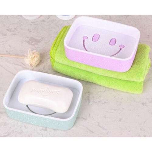 Shower Soap Box Dish Tray Plate Holder Case Container Bathroom Accessory Jian