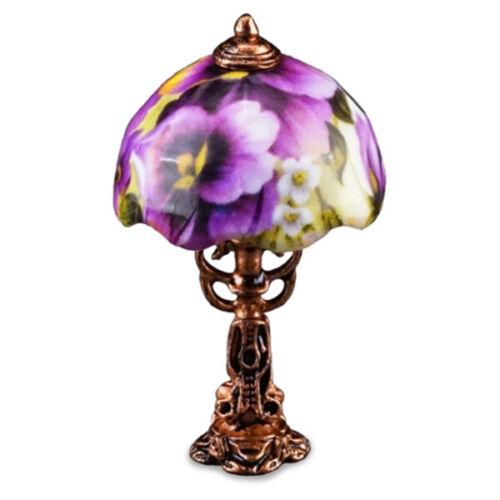"""Miniatur Lampe /""""Stiefmütterchen/"""""""