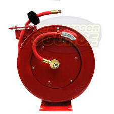 "New 3/8"" x25' Tekton 4677 Auto Retractable Air Hose Reel With Hose 250 PSI  USA"