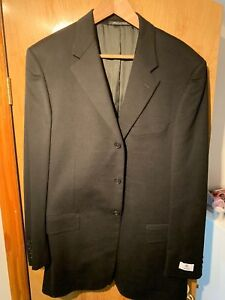 tamaño Coat negro Jacket largo hombre para 42l Sport Zanella 42 YHRxwFI