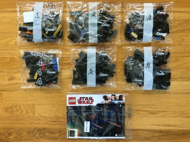 LEGO Star Wars Kylo Ren's Tie Fighter 75179, NEW Sealed Bags NO BOX