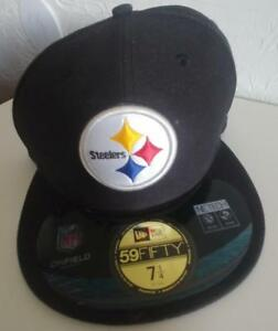 ec09c8246 Pittsburgh Steelers Fitted Baseball Cap/Hat, Size 7.25, New w Tags ...