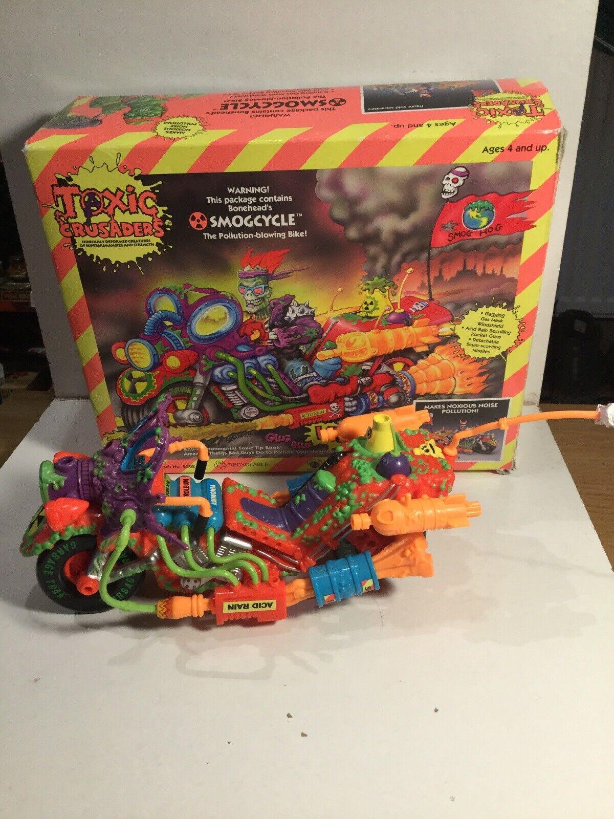 Toxic Crusaders Toxic Smogcycle Within Its Original Box Playmates