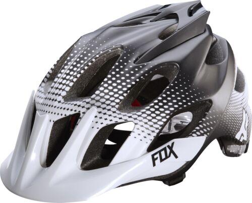 Fox Racing Flux Helmet Race White//Black