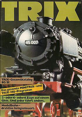 2019 Ultimo Disegno Catalogo Trix 1980/81-mostra Il Titolo Originale