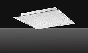 Design w lampada led da soffitto plafoniera dimmerabile bagno
