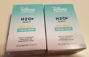 2 SEA SALT FACIAL SOAP BARS DISNEY RESORTS H20 New In Box