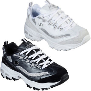 Skechers D'Lites - Glimmer Eve Trainers