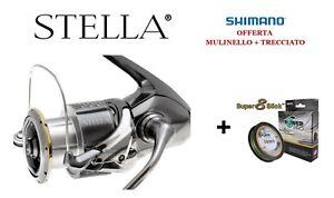 f7940ec6f6c Caricamento dell'immagine in corso MULINELLO-SHIMANO-STELLA-4000-XG-FJ -TRECCIATO-275mt-