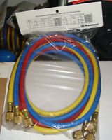 Mastercool 47372 Ac 6ft R-410a Hose Set Nylon Barrier W800 B4000 Psi Made In Usa
