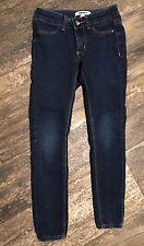Girls DKNY Slim Skinny Blue Jeans, Size 7