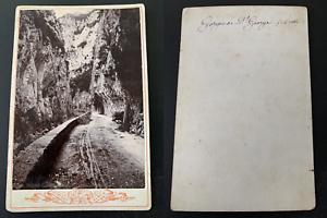 France-Gorges-de-Saint-George-Vintage-print-carte-cabinet-Photomecanique