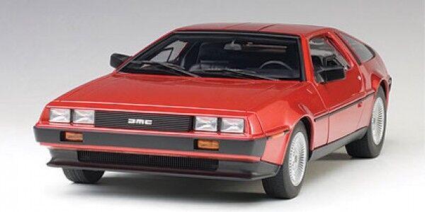 AUTOART DeLorean dmc-12 1981 Metallic rouge 1 18 79918