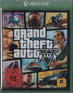 Details Zu Grand Theft Auto V Gta 5 Für Microsoft Xbox One Neu Ovp Deutsche Version