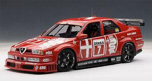 1-18-Autoart-Alfa-Romeo-155-V6-TI-DTM-1993-NANNINI-7-HOCKENHEIM-Ganador