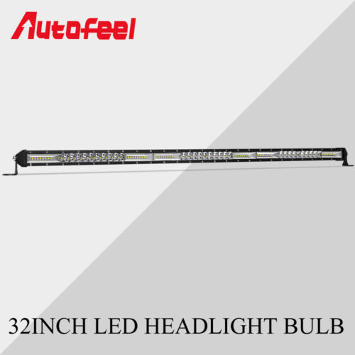 SLIM 30inch 624W LED Work Light Bar Flood Spot Combo Offroad Driving SUV 4WD 32/'