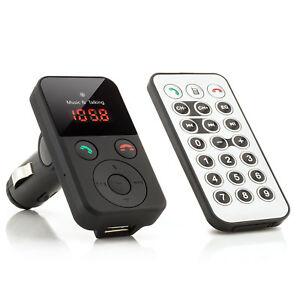 kfz fm transmitter mp3 player bluetooth auto. Black Bedroom Furniture Sets. Home Design Ideas
