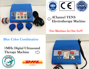 Physical Therapy Ultrasound Therapy Machine & 4ch ...