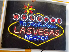 Welcome To Las Vegas Nevada Casino Neon Sign Homeroom Wall Decor Gift24