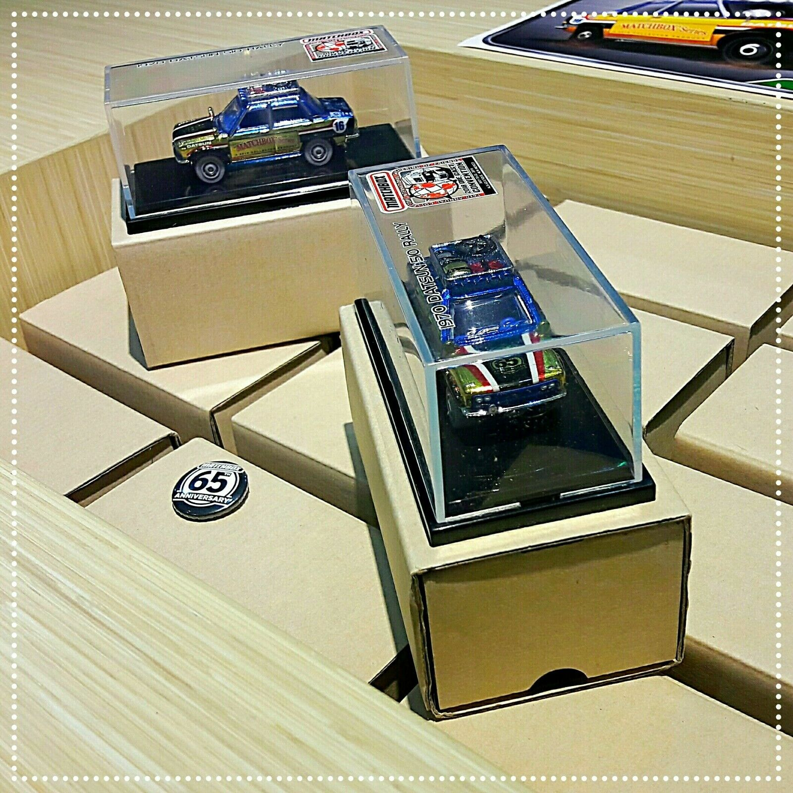 Matchbox 2018 Datsun 510 Rally Gathering RARE (1pcs)