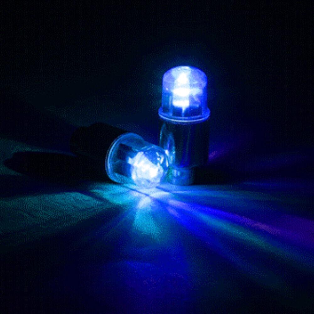 LED Dragonfly Car Wheel Tyre Decor Light Bulb Tire Air Valve Stem Cap Lamp x 4 7