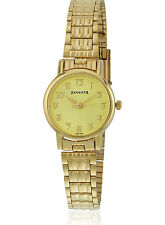 SONATA ANALOG FORMAL GOLDEN DIAL WOMEN'S WATCH 8976YM06