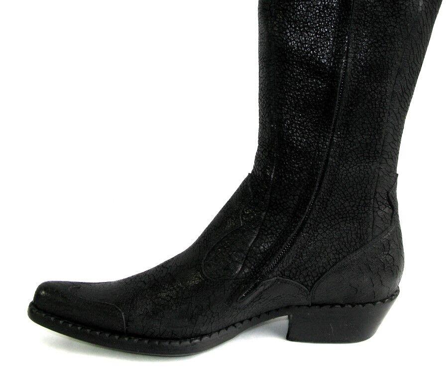 FREE LANCE Bottes cuissardes cuir santiags alma 4 tout cuir cuissardes noir 36 EXCELLENT ETAT fb3fef