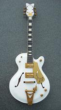 RGM073  Brian Setzer Stray Cats 1955 White Falcon Miniature Guitar