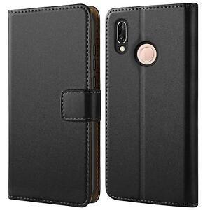 Book-Cover-Huawei-P20-Lite-Handy-Huelle-Schutzhuelle-Tasche-Flip-Case-Brieftasche