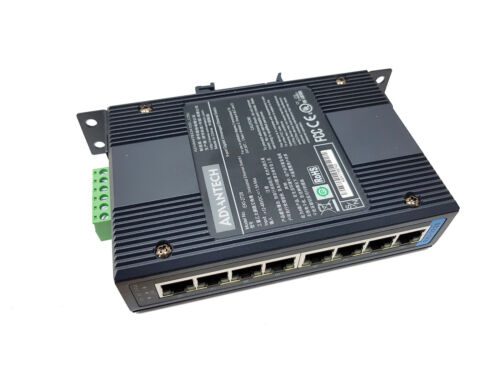 ADVANTECH EKI-2728 8-Port Gigabit Unmanaged Industrial Ethernet Switch