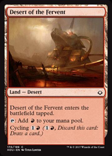 4x Desert of the Fervent NEW MTG Hour of Devastation