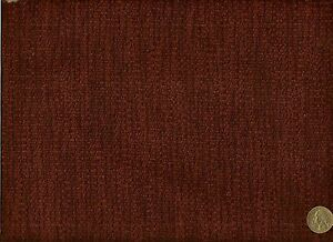 Barrow Orchid Solid Woven wine burgandy chenille ...
