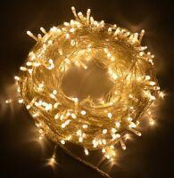 50 100 200 400 LED String Main Powered Fairy Lights Garden Christmas Outdoor