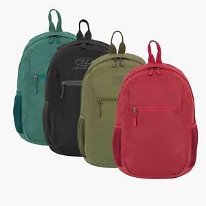 Backpack Daysack Mens Womens Kids Travel School Hand Bag Hiking Highlander    eBay