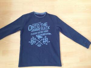 Das Bild wird geladen Pullover-Gr-176-von-Manguun-Sweatshirt-blau-Top b2c084fde4