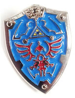 Legend Of Zelda Link Hylian Triforce Nintendo Shield Jacket Hat Tie Lapel Pin