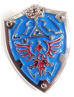 Legend Of Zelda Link Hylian Triforce Nintendo Shield Jacket Hat Tie Lapel Pin